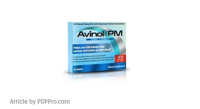 Avinol PM Review - Does This Sleep Aid Work?