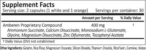 Amberen Ingredients