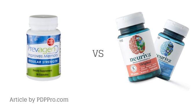 Prevagen vs Neuriva Comparison by PDPPRO