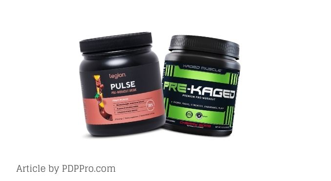 Legion Pulse vs Pre Kaged - Which is the Better Pre-Workout?