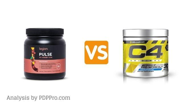 Legion Pulse vs C4