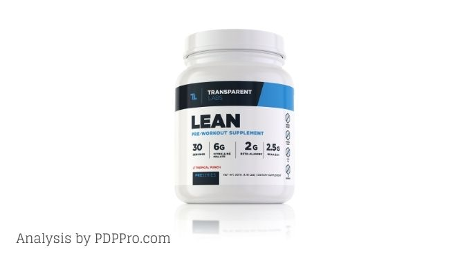 Transparent Labs LEAN Pre-Workout Review