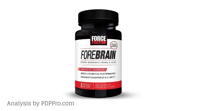 Force Factor Forebrain Review - does it work?