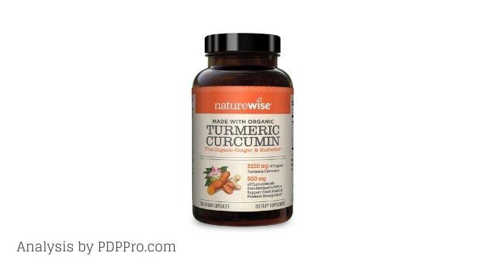 NatureWise Curcumin Turmeric 2250mg Review