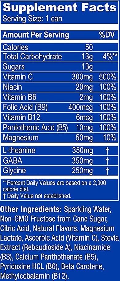 Zenify Original Ingredients