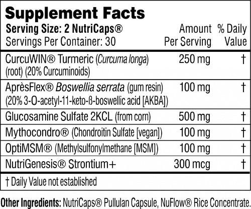 Performance Lab Flex ingredients